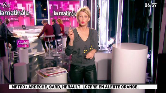 Maïtena Biraben dans la Matinale. Diffusé à la télévision le 03/11/11.
