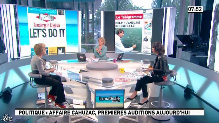 Apolline De Malherbe dans la Matinale. Diffusé à la télévision le 21/05/13.