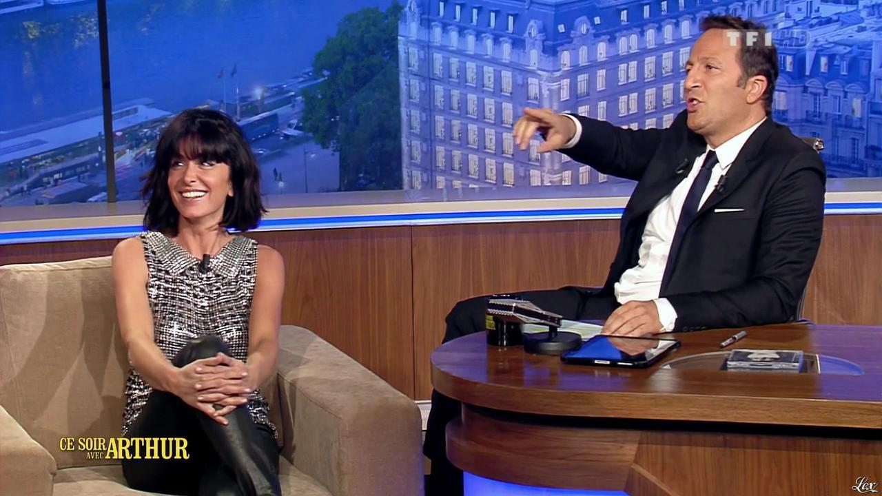 Jenifer Bartoli dans Ce Soir Avec Arthur. Diffusé à la télévision le 24/05/13.