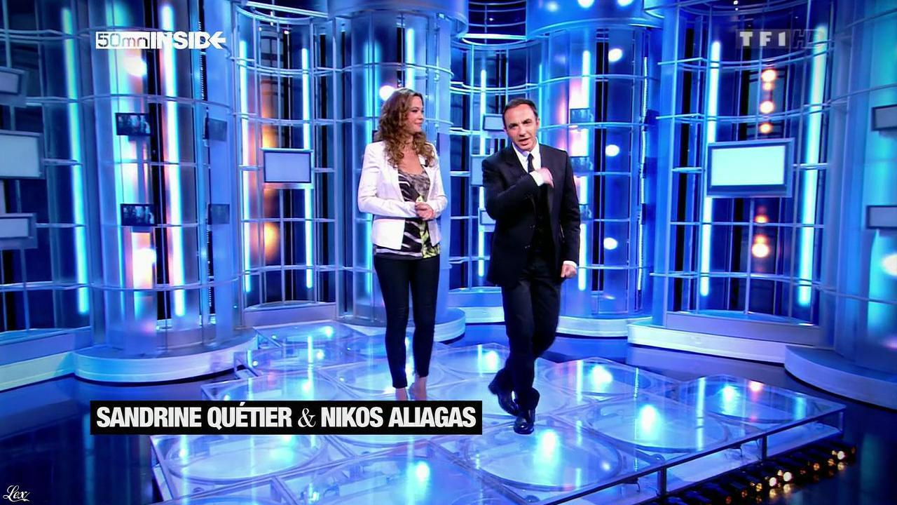 Sandrine Quétier dans 50 Minutes Inside. Diffusé à la télévision le 11/05/13.