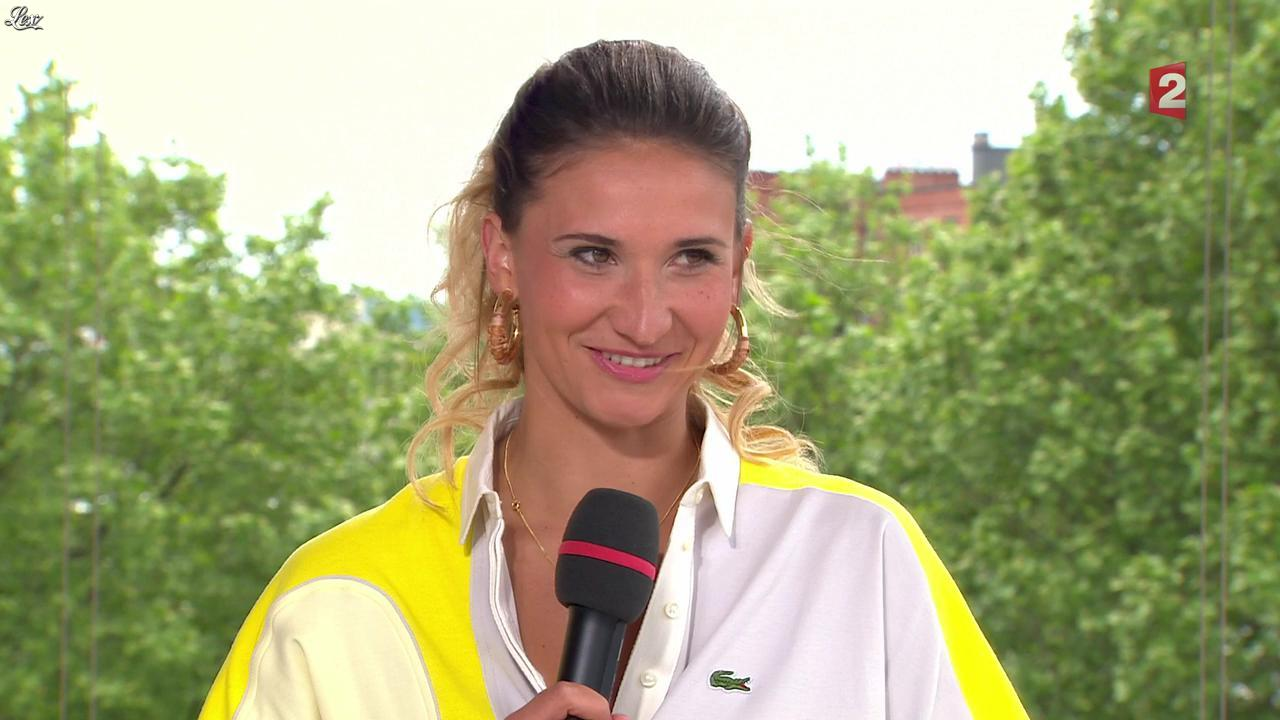 Tatiana Golovin dans Roland Garros. Diffusé à la télévision le 27/05/13.