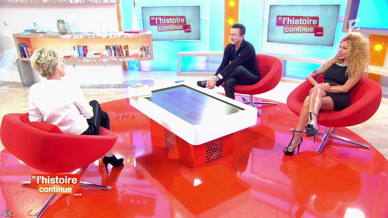 Afida Turner dans Toute une Histoire. Diffusé à la télévision le 23/04/14.