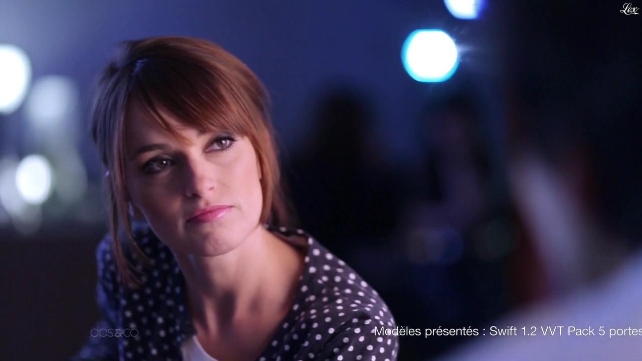 Amélie Remacle dans une Publicité pour la Suzuki Swift. Diffusé à la télévision le 08/05/14.