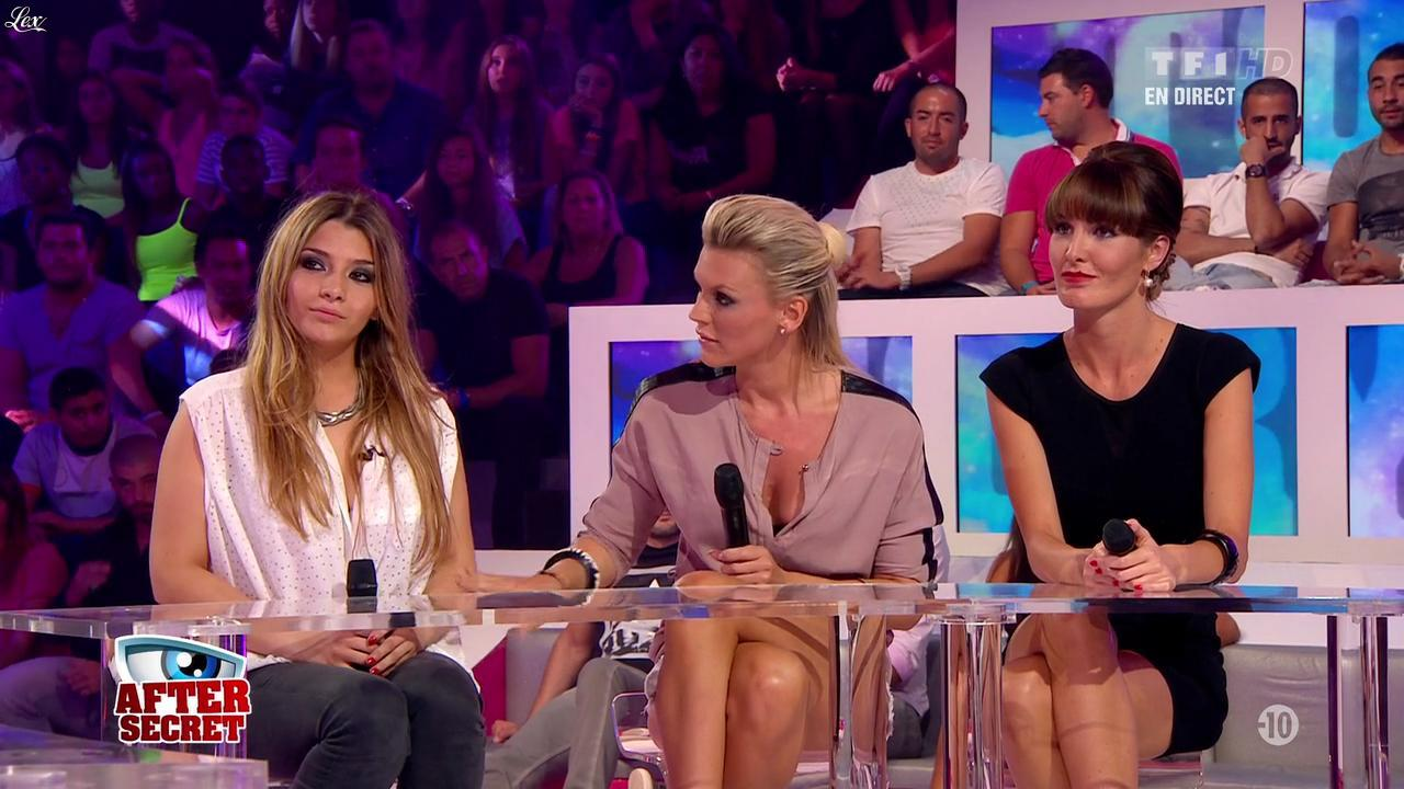 Clara dans Secret Story. Diffusé à la télévision le 30/08/13.