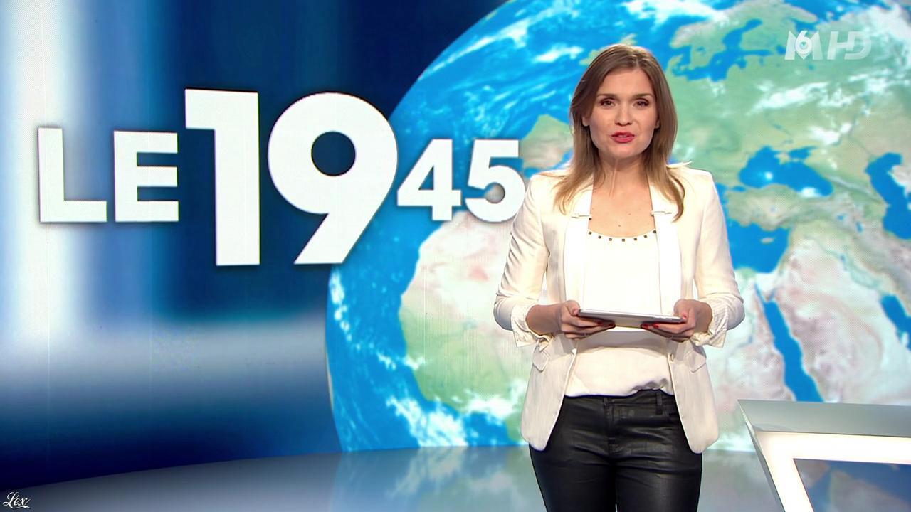 Karelle Ternier dans le 19-45. Diffusé à la télévision le 09/05/14.