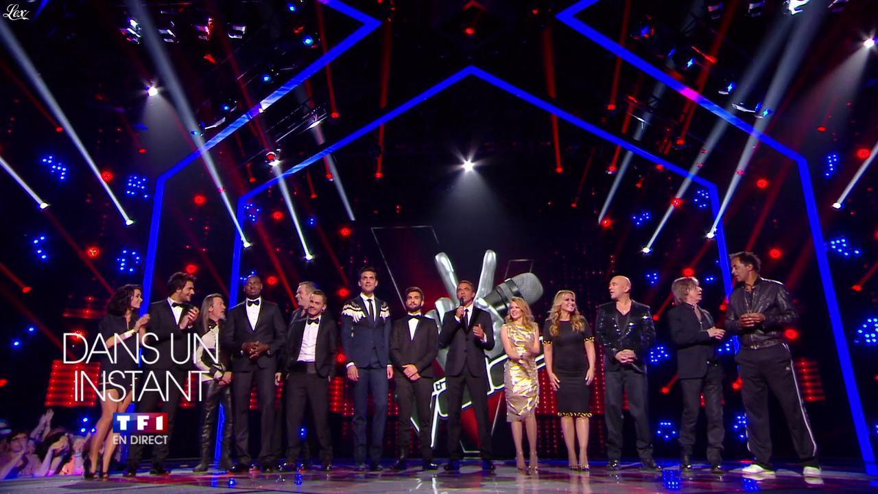 Kylie Minogue dans une Bande-Annonce de The Voice. Diffusé à la télévision le 10/05/14.