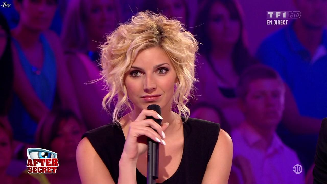 Nadege Lacroix dans Secret Story. Diffusé à la télévision le 30/08/13.