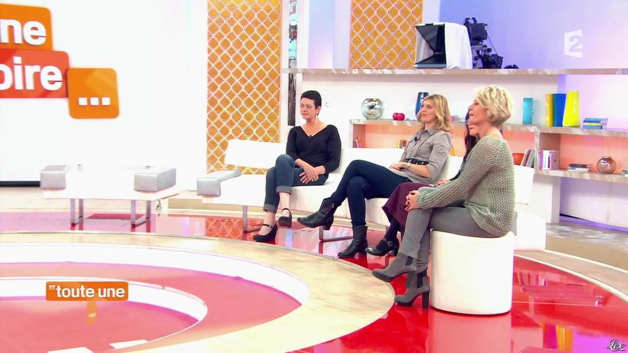 Sophie Davant dans Toute une Histoire. Diffusé à la télévision le 22/04/14.