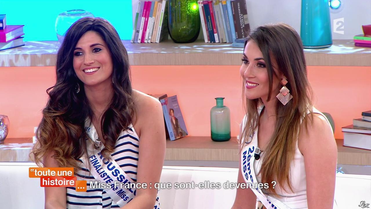 Sophie Gaerenaux et Marilou Cubaynes dans Toute une Histoire. Diffusé à la télévision le 30/04/14.