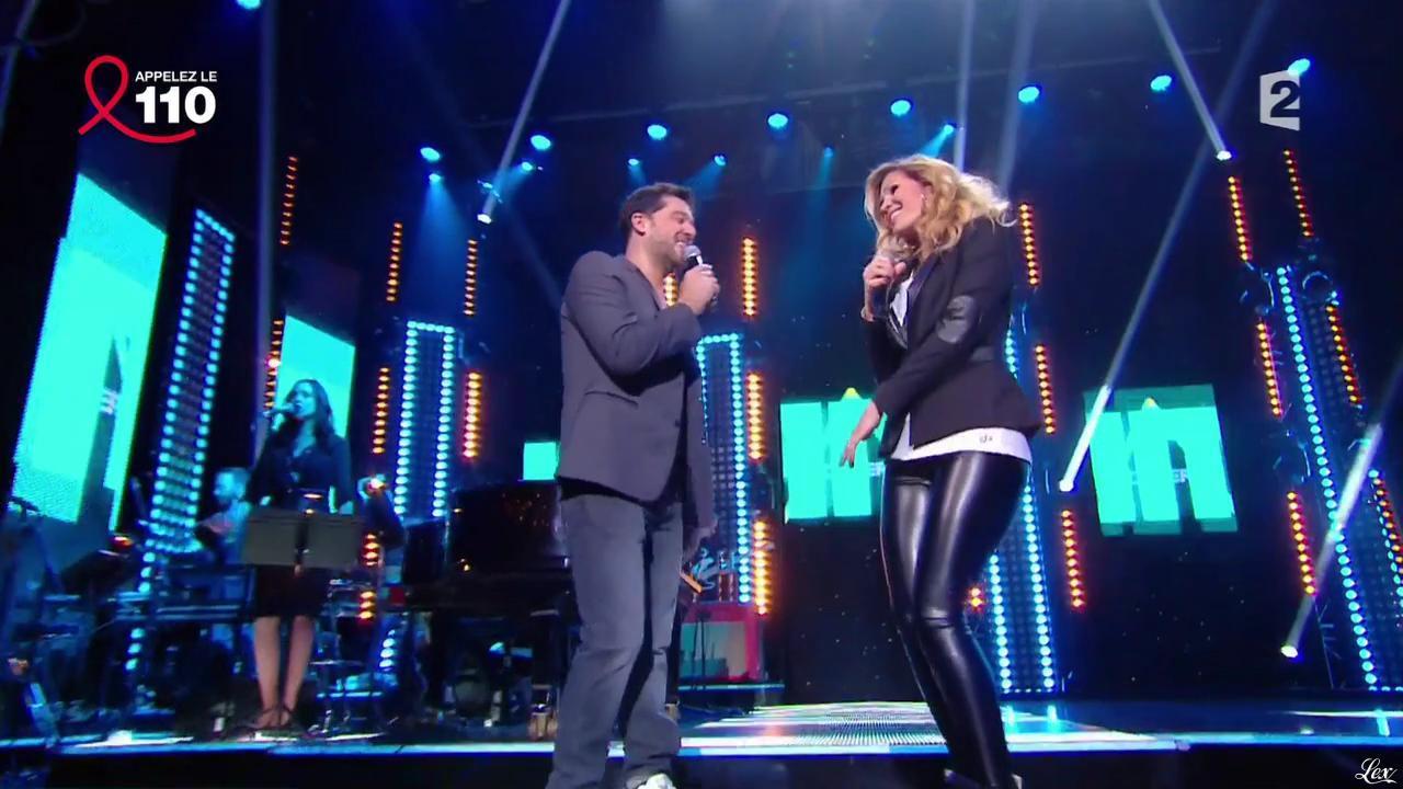 Vitaa dans la Télé Chante Pour le Sidaction. Diffusé à la télévision le 05/04/14.