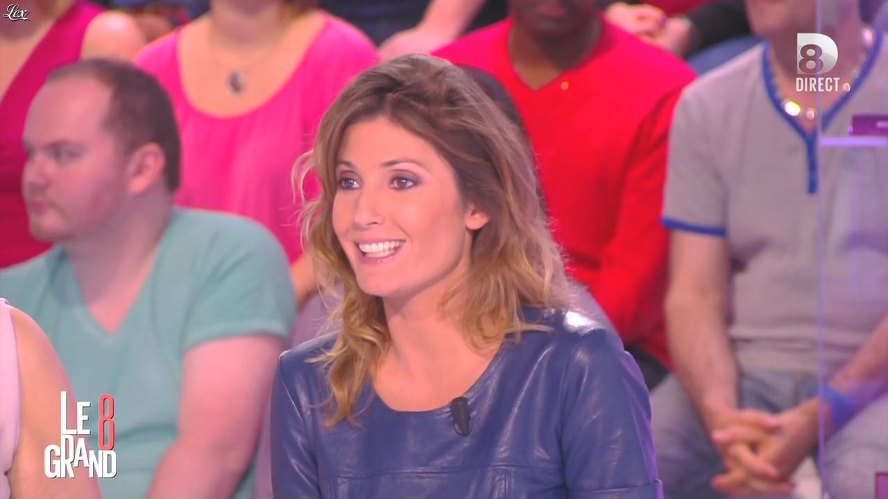 Caroline Ithurbide dans le Grand 8. Diffusé à la télévision le 09/04/15.