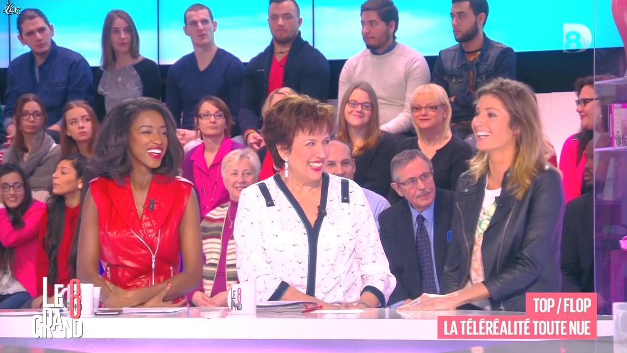 Hapsatou Sy et Caroline Ithurbide dans le Grand 8. Diffusé à la télévision le 13/02/15.