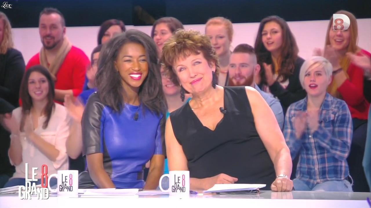 Hapsatou Sy dans le Grand 8. Diffusé à la télévision le 06/02/15.