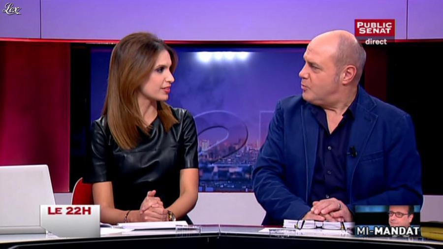 Sonia Mabrouk dans le 22h. Diffusé à la télévision le 06/11/14.