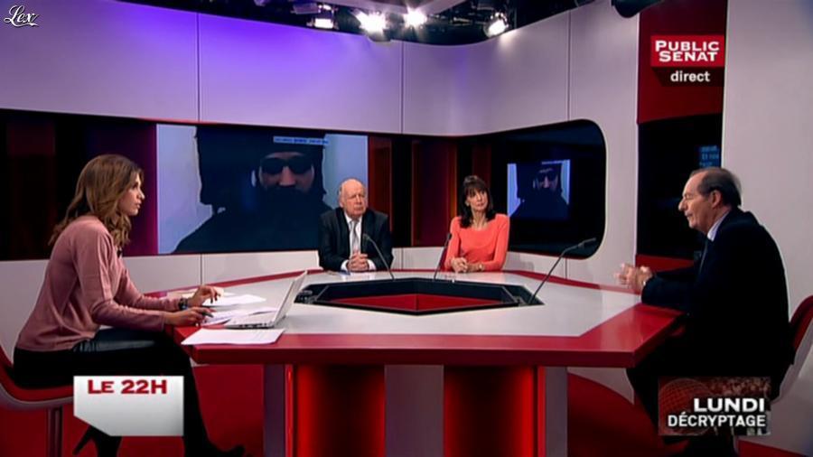 Sonia Mabrouk dans le 22h. Diffusé à la télévision le 17/11/14.