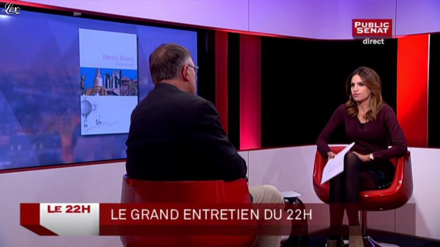 Sonia Mabrouk dans le 22h. Diffusé à la télévision le 27/11/14.