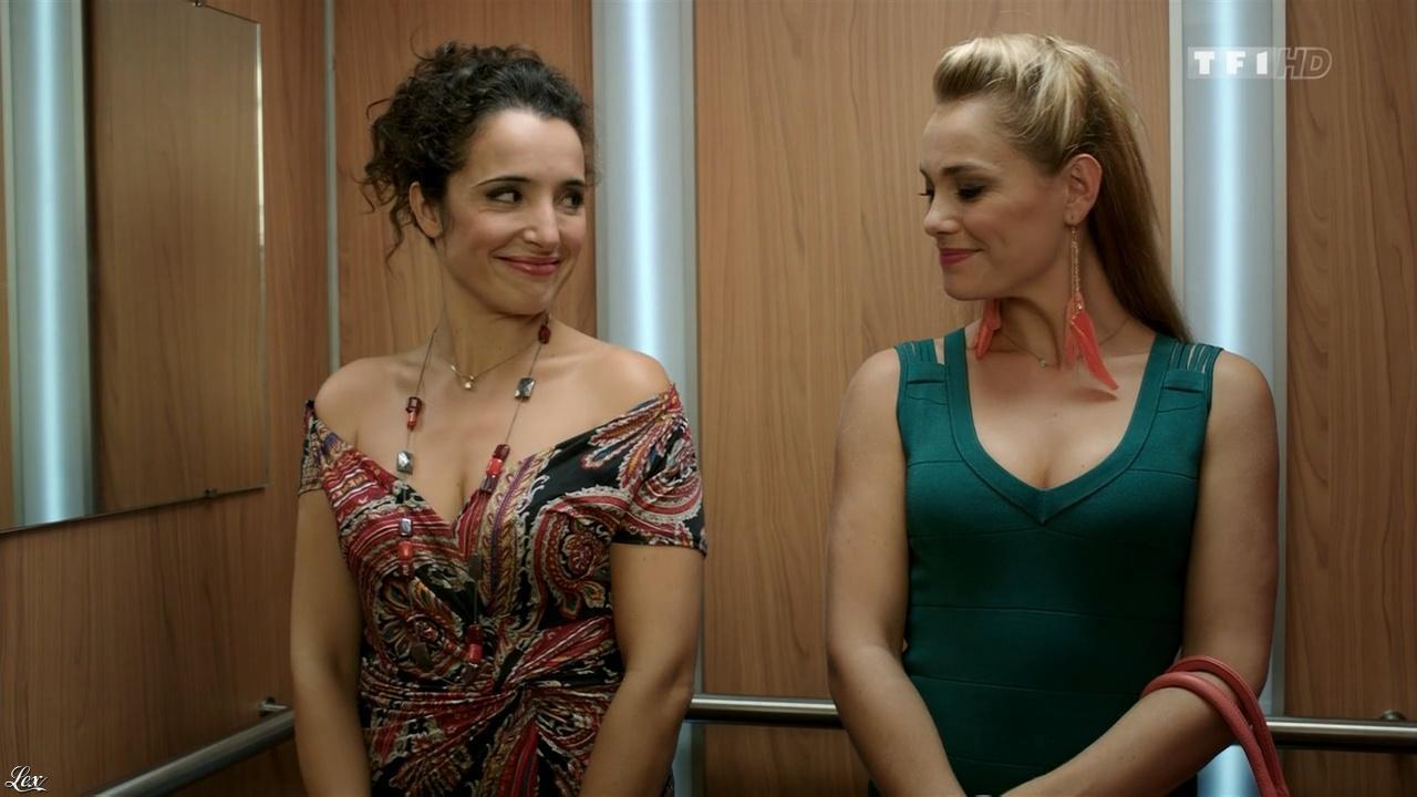Joy Esther et Isabelle Vitari dans Nos Chers Voisins. Diffusé à la télévision le 27/02/16.