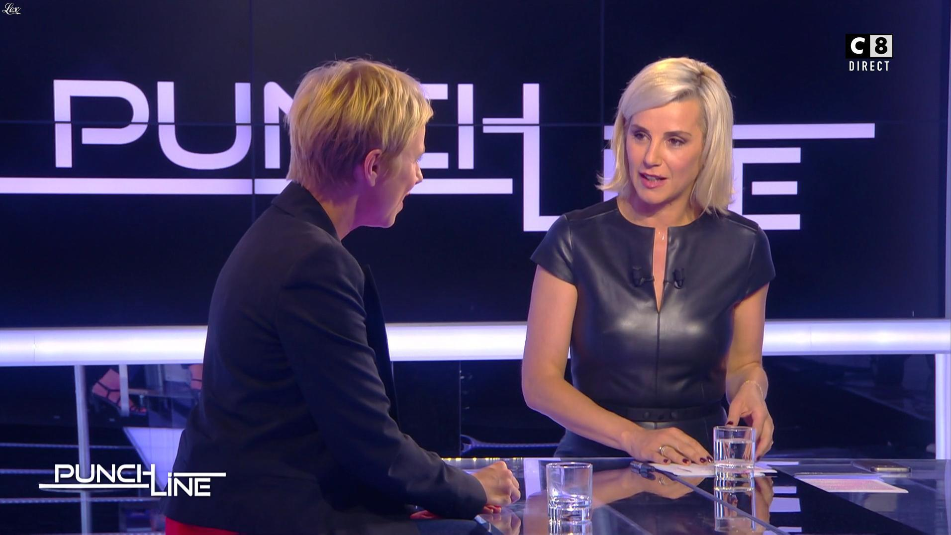 Laurence Ferrari dans Punchline. Diffusé à la télévision le 25/06/17.