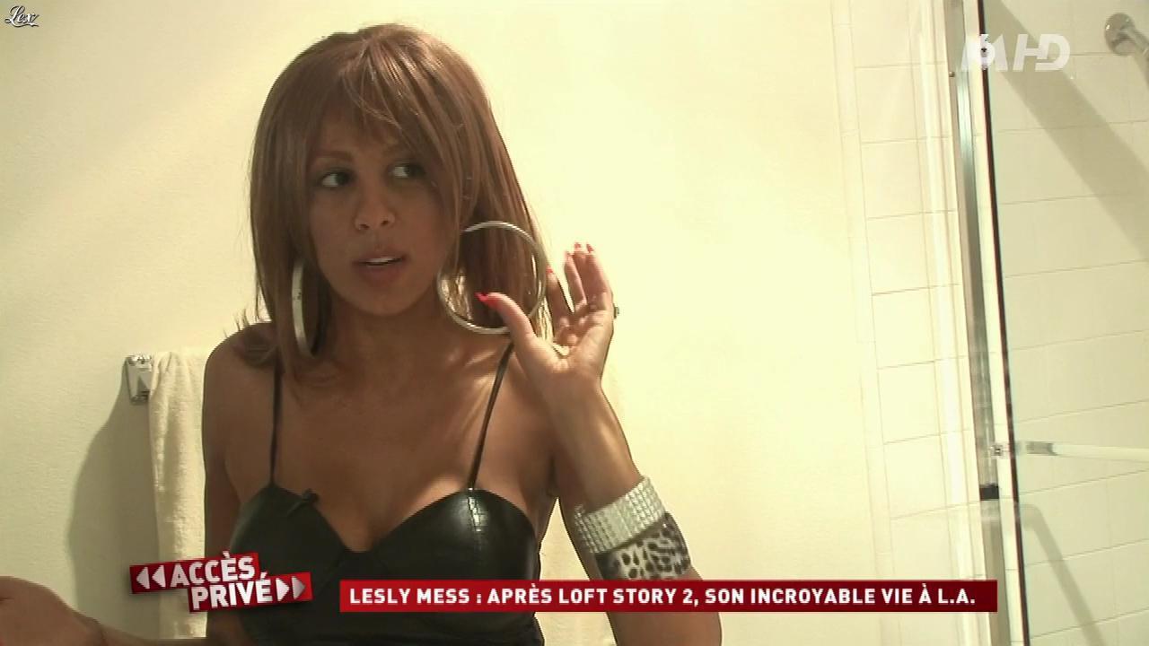 Afida Turner dans Accès Privé. Diffusé à la télévision le 07/03/10.