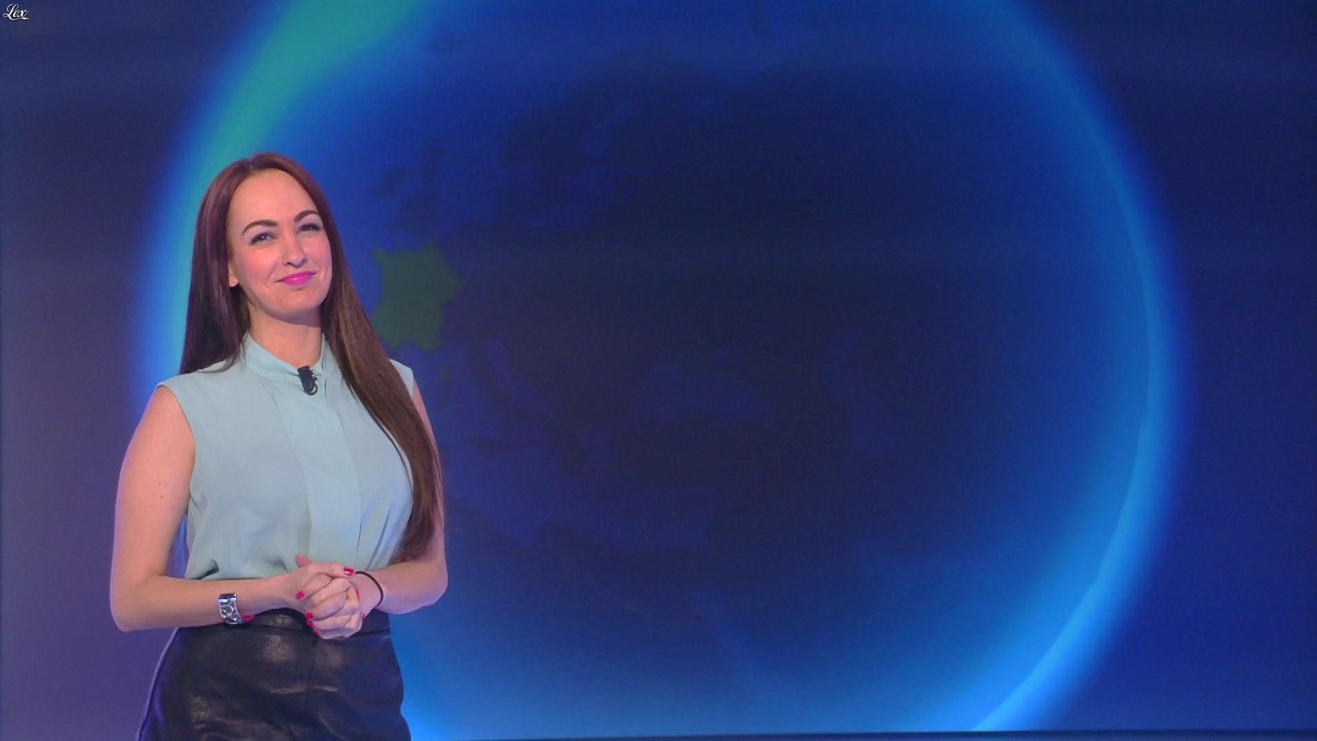 Alexandra Blanc dans la Matinale. Diffusé à la télévision le 12/03/18.