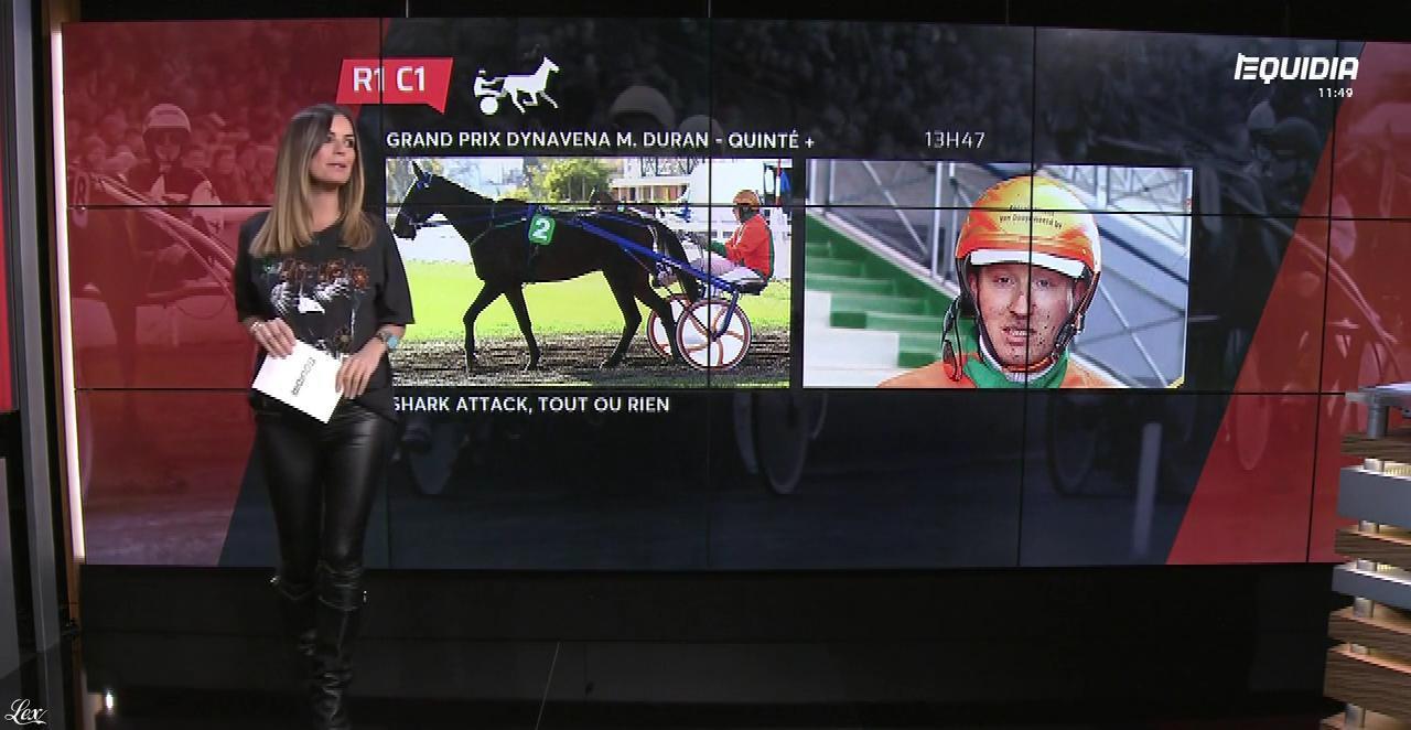 Amélie Bitoun dans le Grand Direct. Diffusé à la télévision le 21/03/18.