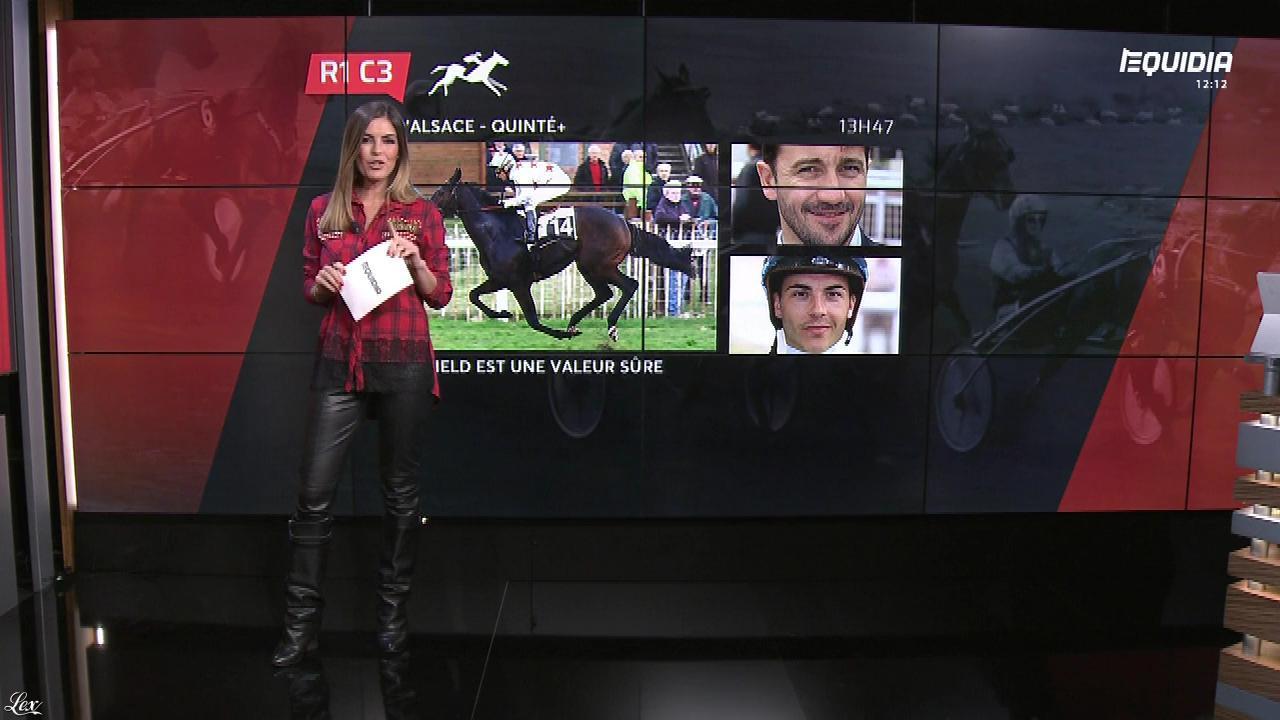 Amélie Bitoun dans le Grand Direct. Diffusé à la télévision le 29/03/18.