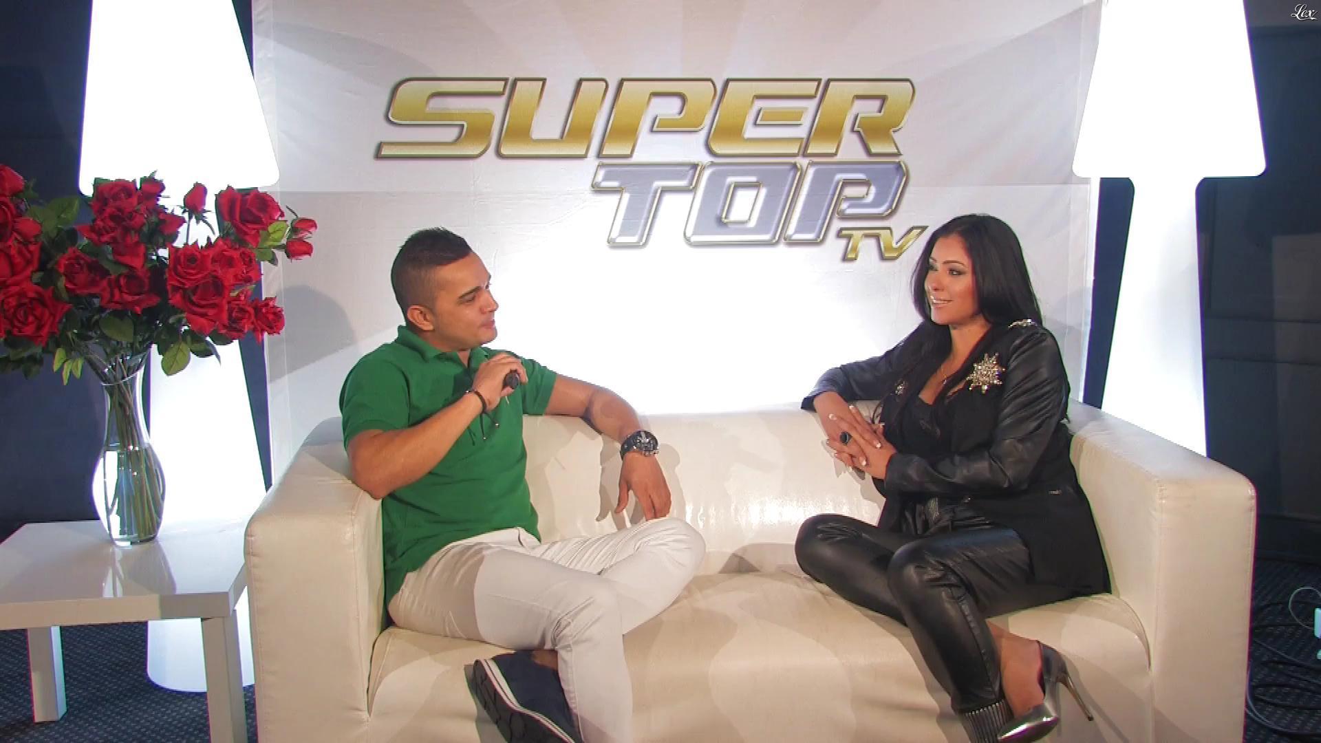 Andreia Camargo dans Super Top Tv. Diffusé à la télévision le 22/10/17.