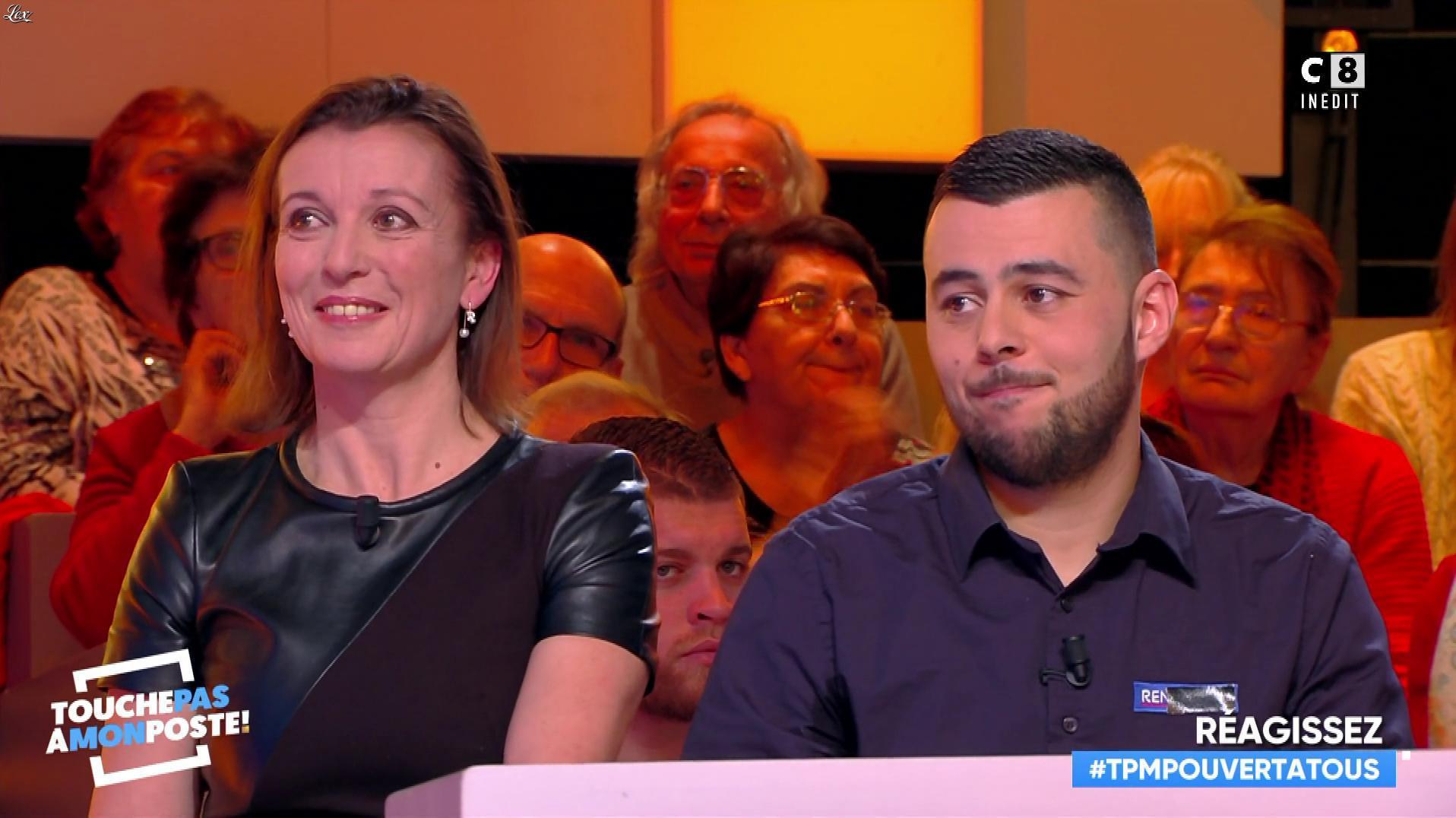 Anne Catherine Penichot dans Touche pas à mon Poste. Diffusé à la télévision le 01/02/19.