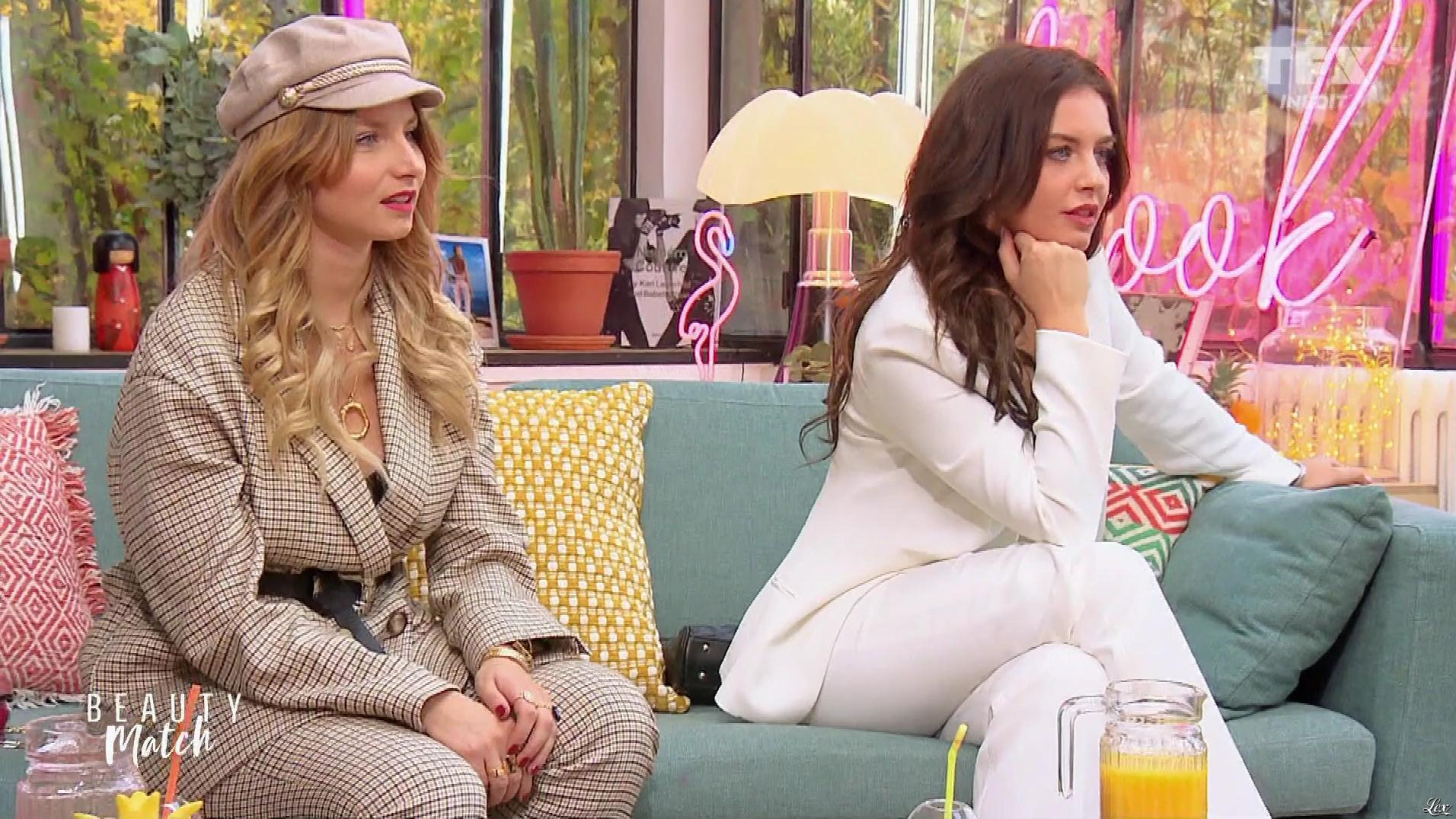 Aurela Skandaj dans Beauty Match. Diffusé à la télévision le 01/04/19.