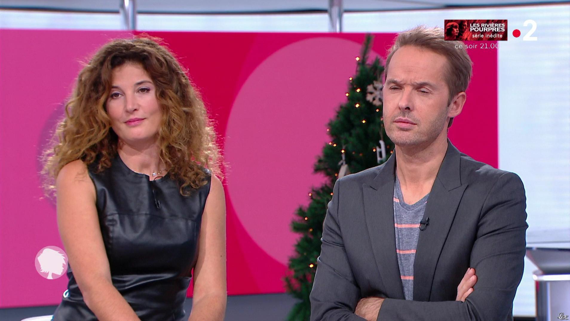 Aurelia Bloch dans c'est au Programme. Diffusé à la télévision le 10/12/18.