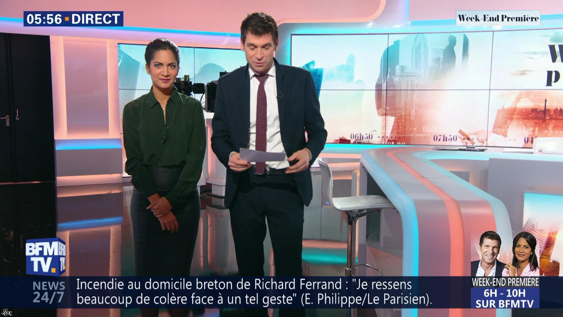 Aurélie Casse dans Week-End Première. Diffusé à la télévision le 10/02/19.