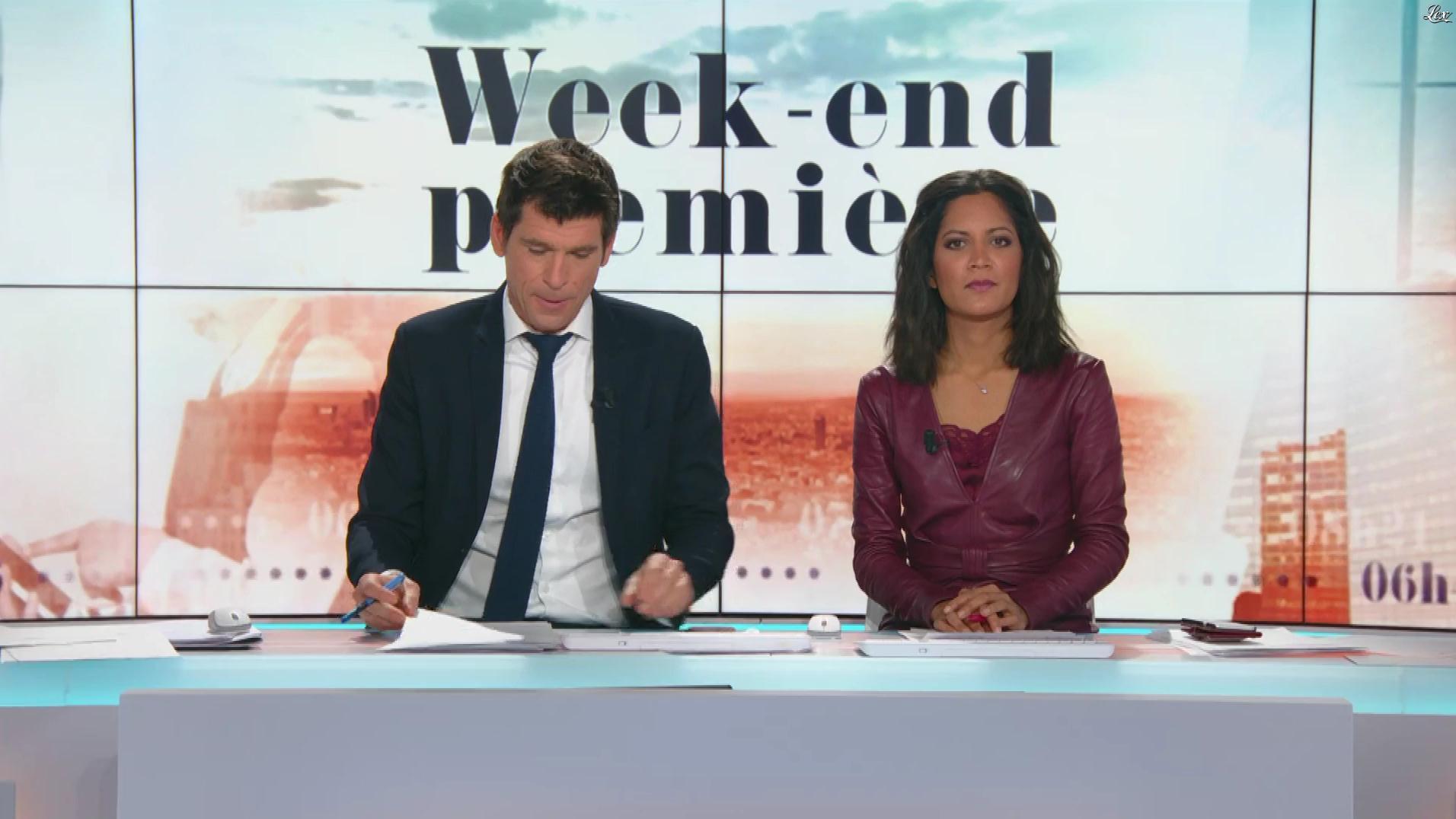 Aurélie Casse dans Week-End Première. Diffusé à la télévision le 24/02/19.