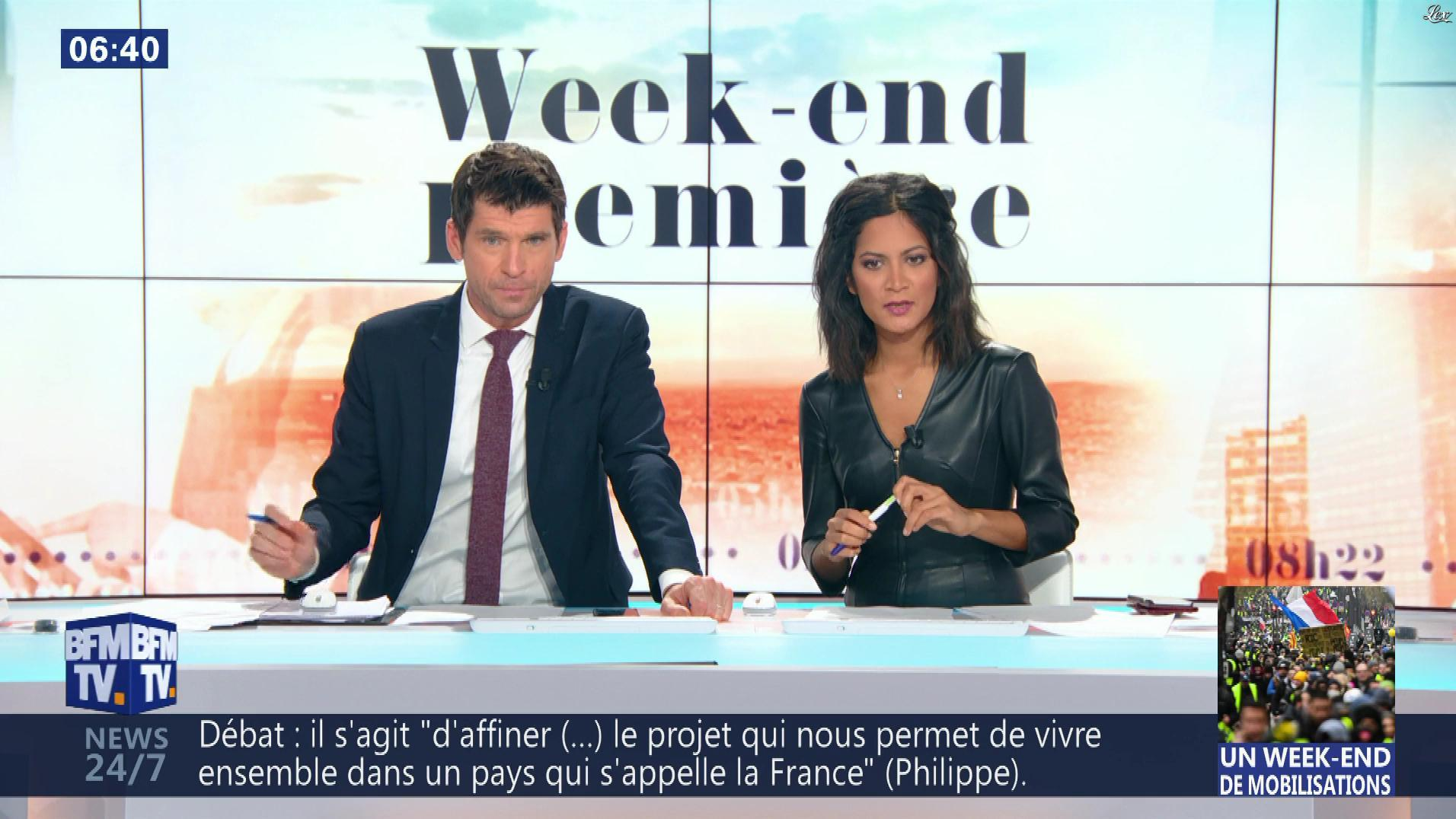 Aurélie Casse dans Week-End Première. Diffusé à la télévision le 26/01/19.