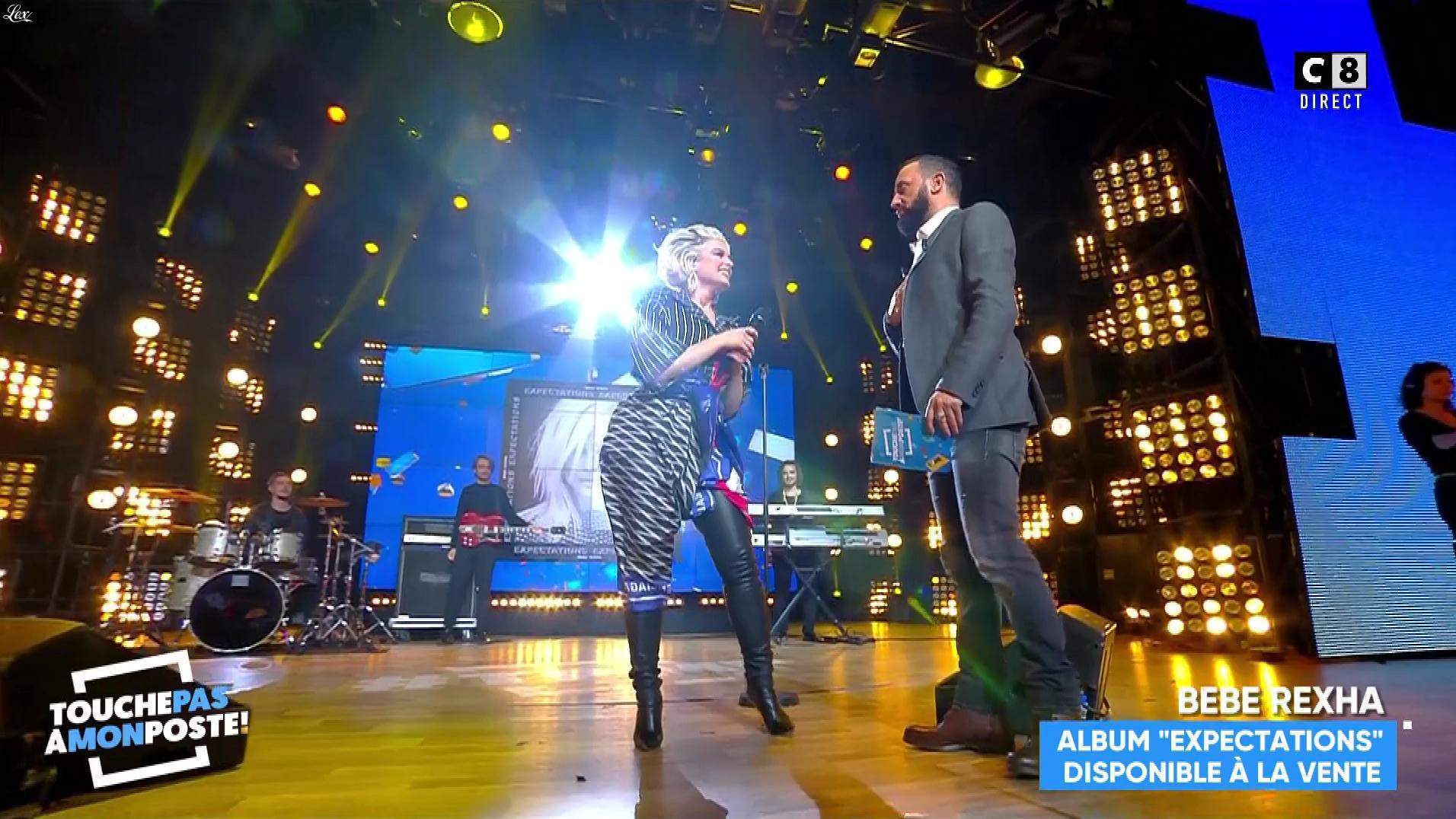 Bebe Rexha dans Touche pas à mon Poste. Diffusé à la télévision le 21/11/18.