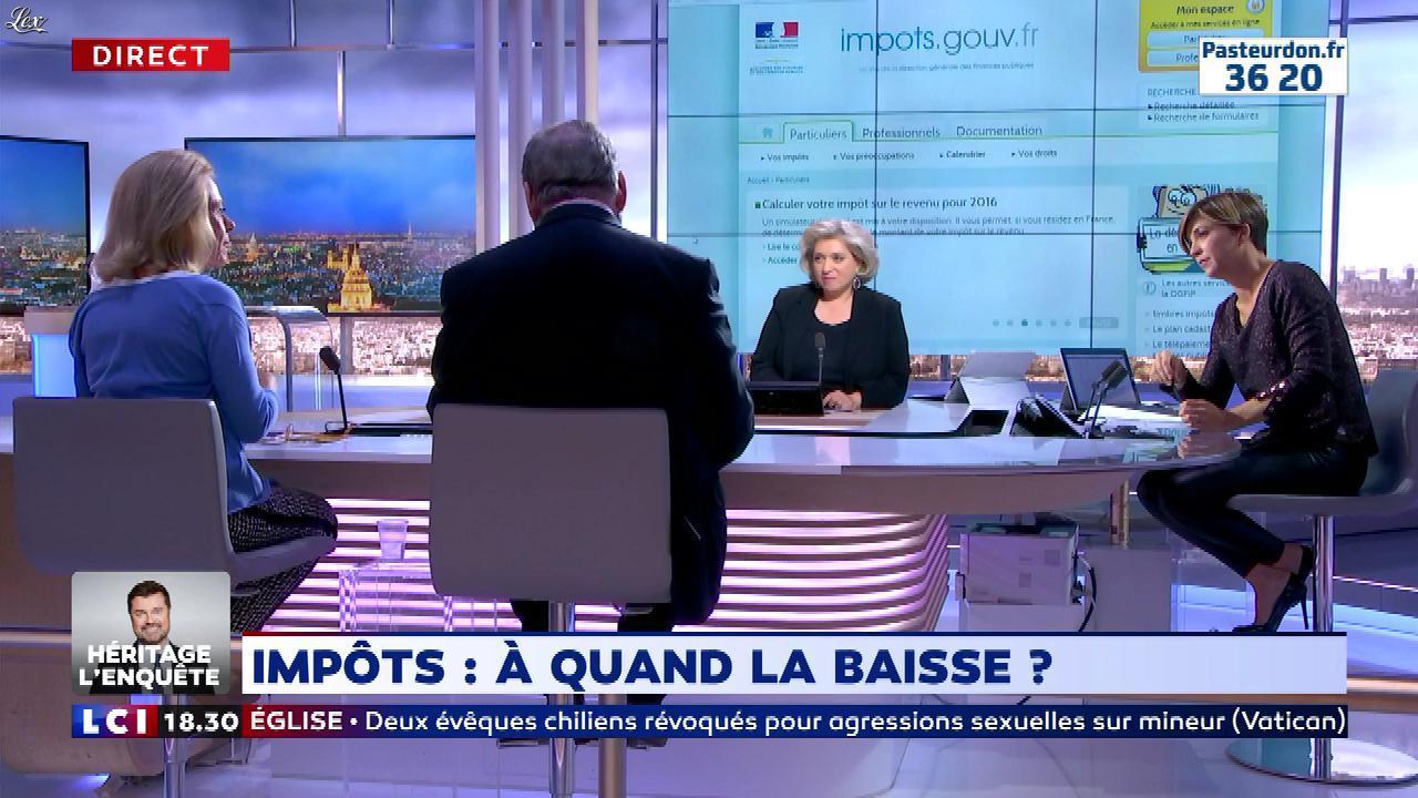 Benedicte Le Chatelier dans 24h le Week-End. Diffusé à la télévision le 13/10/18.