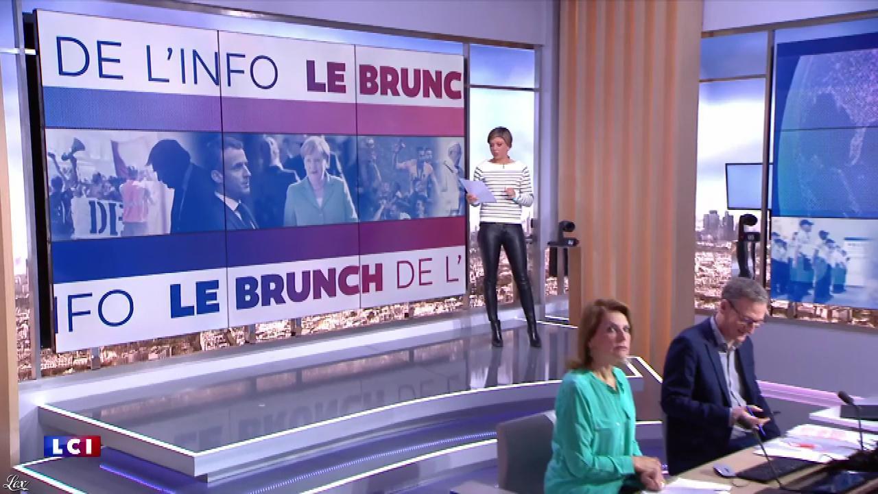 Benedicte Le Chatelier dans le Brunch. Diffusé à la télévision le 04/05/19.