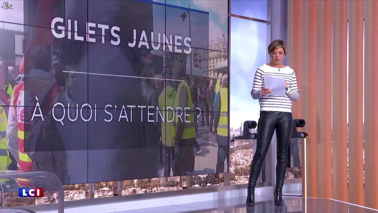 Bénédicte Le Chatelier dans le Brunch. Diffusé à la télévision le 04/05/19.