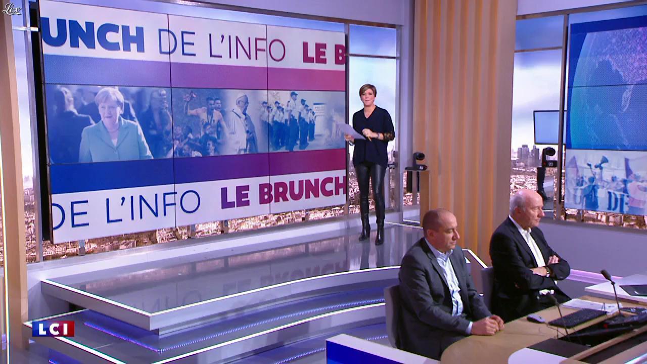 Benedicte Le Chatelier dans le Brunch. Diffusé à la télévision le 09/02/19.