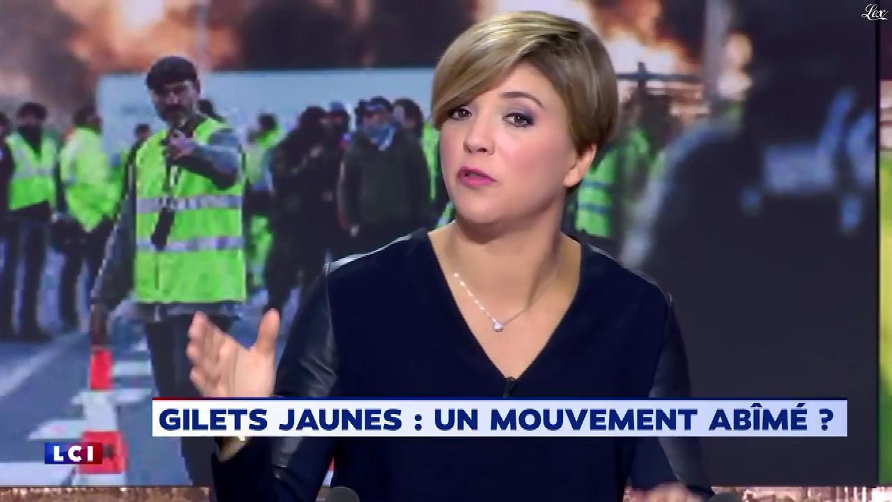 Benedicte Le Chatelier dans le Brunch. Diffusé à la télévision le 25/12/18.