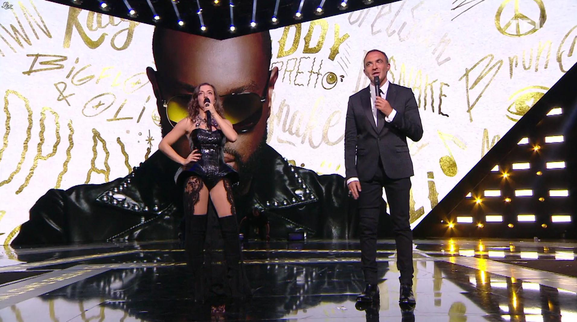 Camille Lellouche dans NRJ Music Awards. Diffusé à la télévision le 10/11/18.