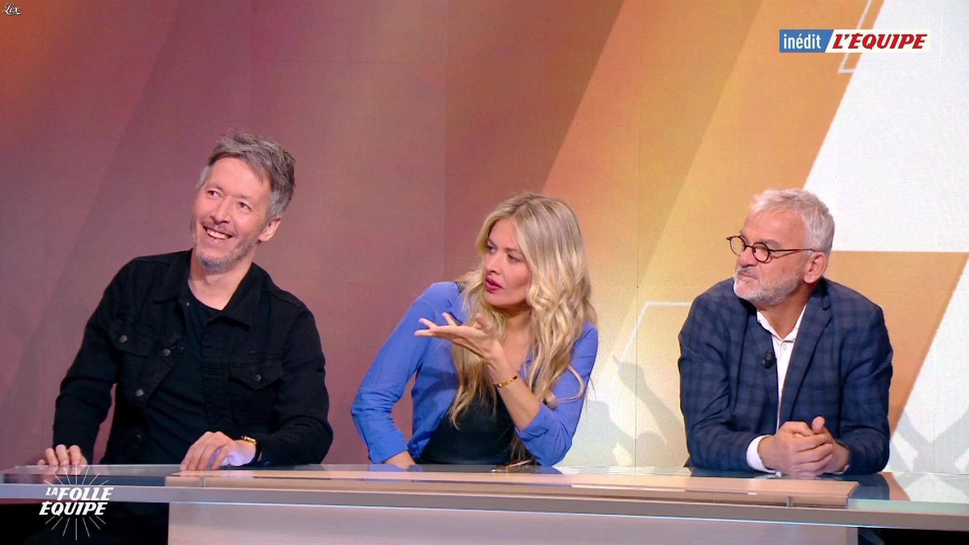 Carine Galli dans la Folle Equipe. Diffusé à la télévision le 01/04/19.