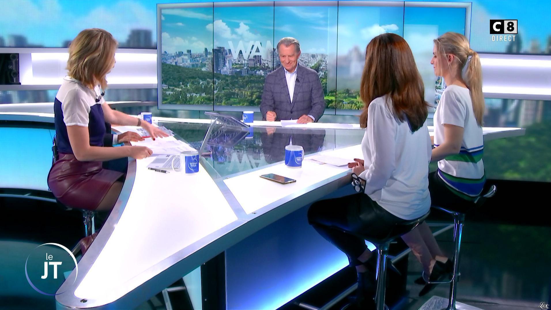 Caroline Delage et Caroline Munoz dans William à Midi. Diffusé à la télévision le 15/03/19.