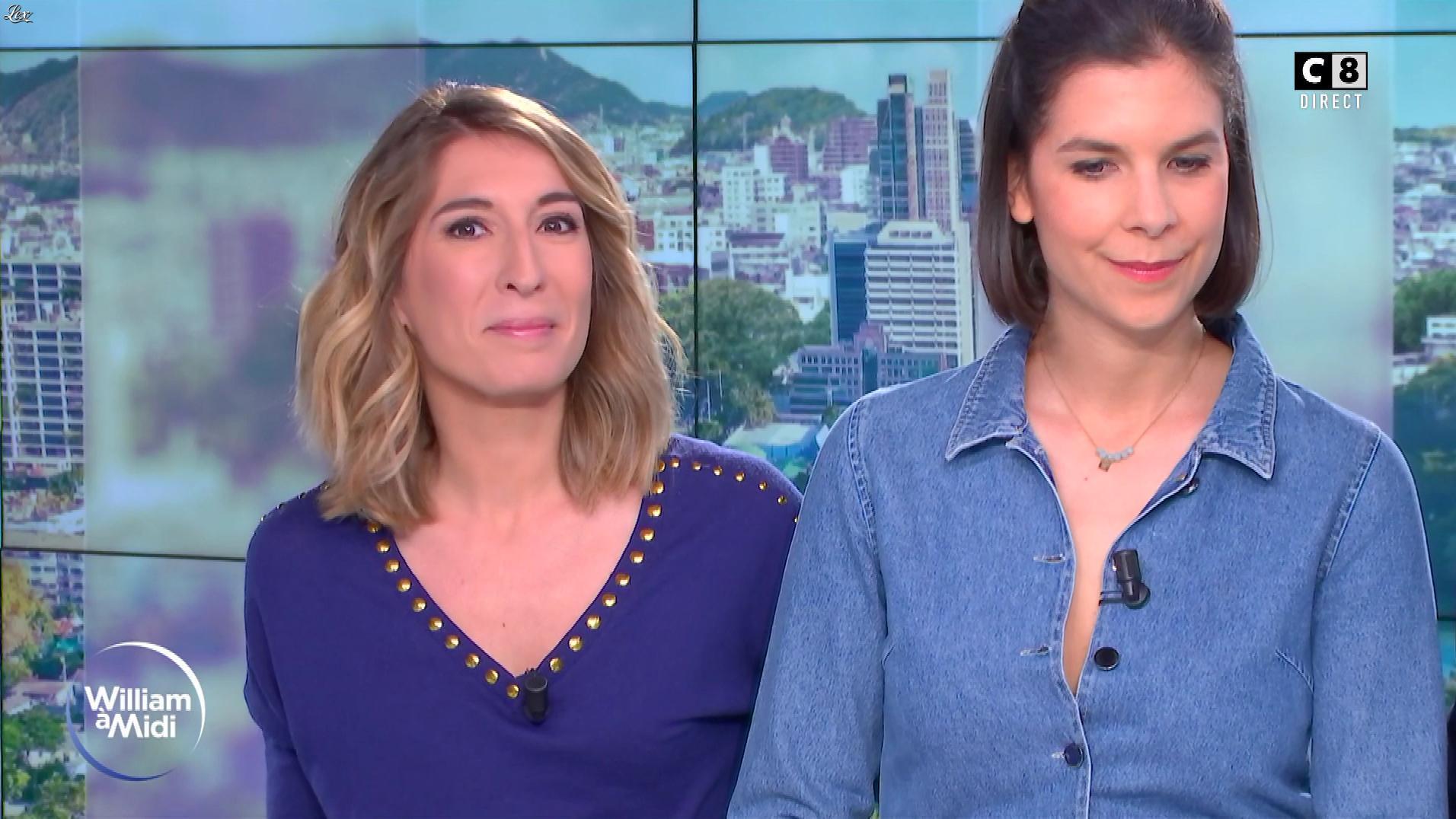 Caroline Delage dans William à Midi. Diffusé à la télévision le 07/01/19.