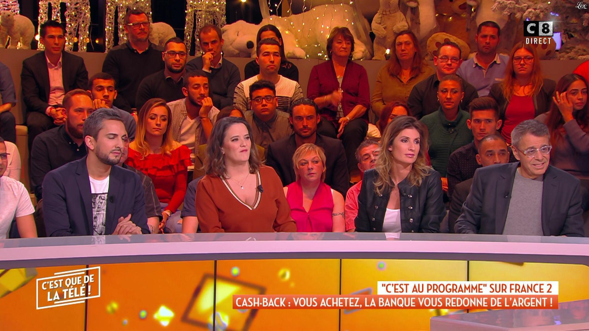 Caroline Ithurbide dans c'est Que de la Télé. Diffusé à la télévision le 04/12/18.