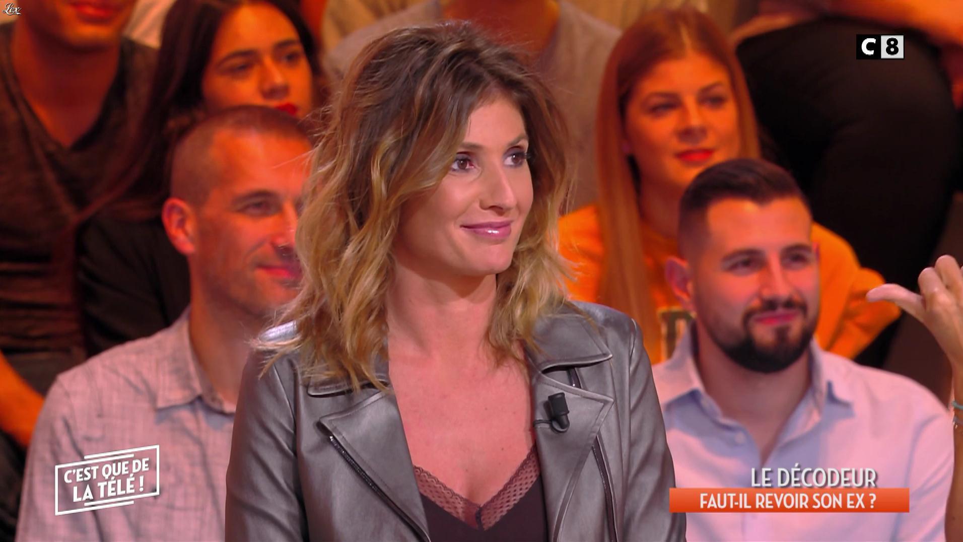Caroline Ithurbide dans c'est Que de la Télé. Diffusé à la télévision le 06/03/19.