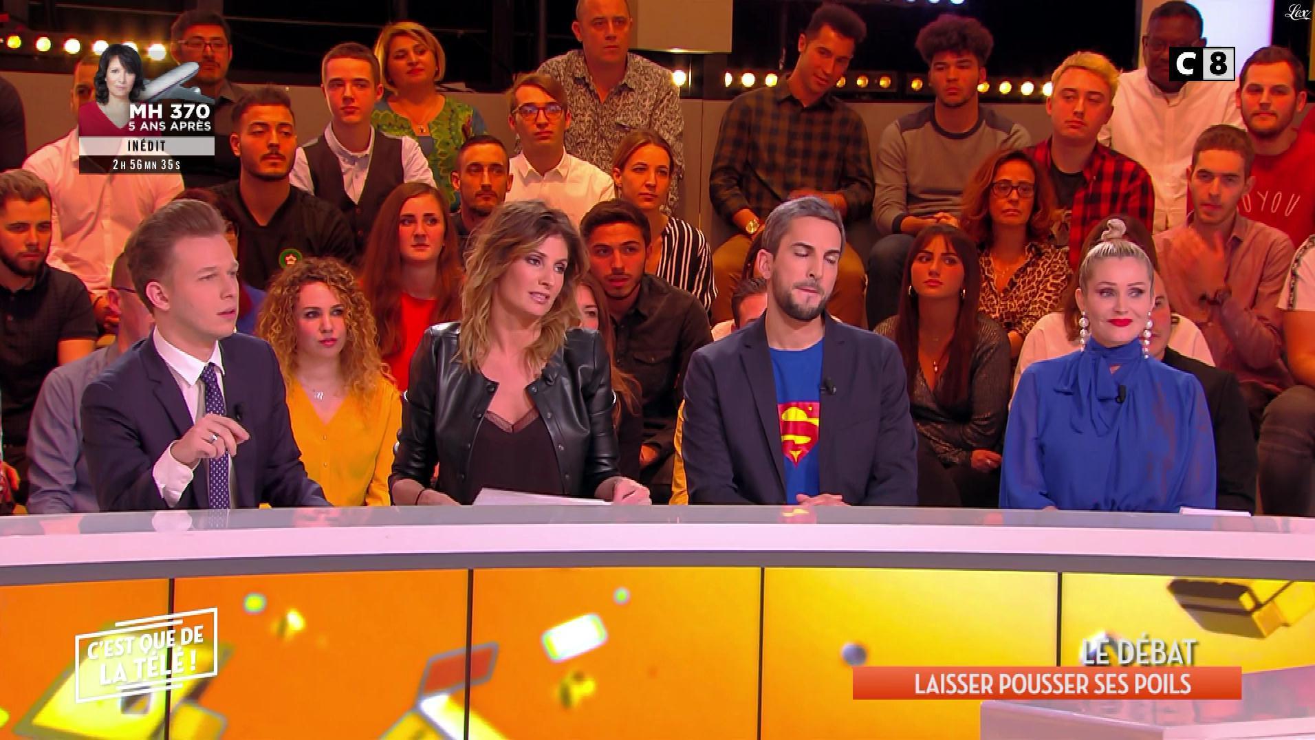 Caroline Ithurbide dans c'est Que de la Télé. Diffusé à la télévision le 07/03/19.