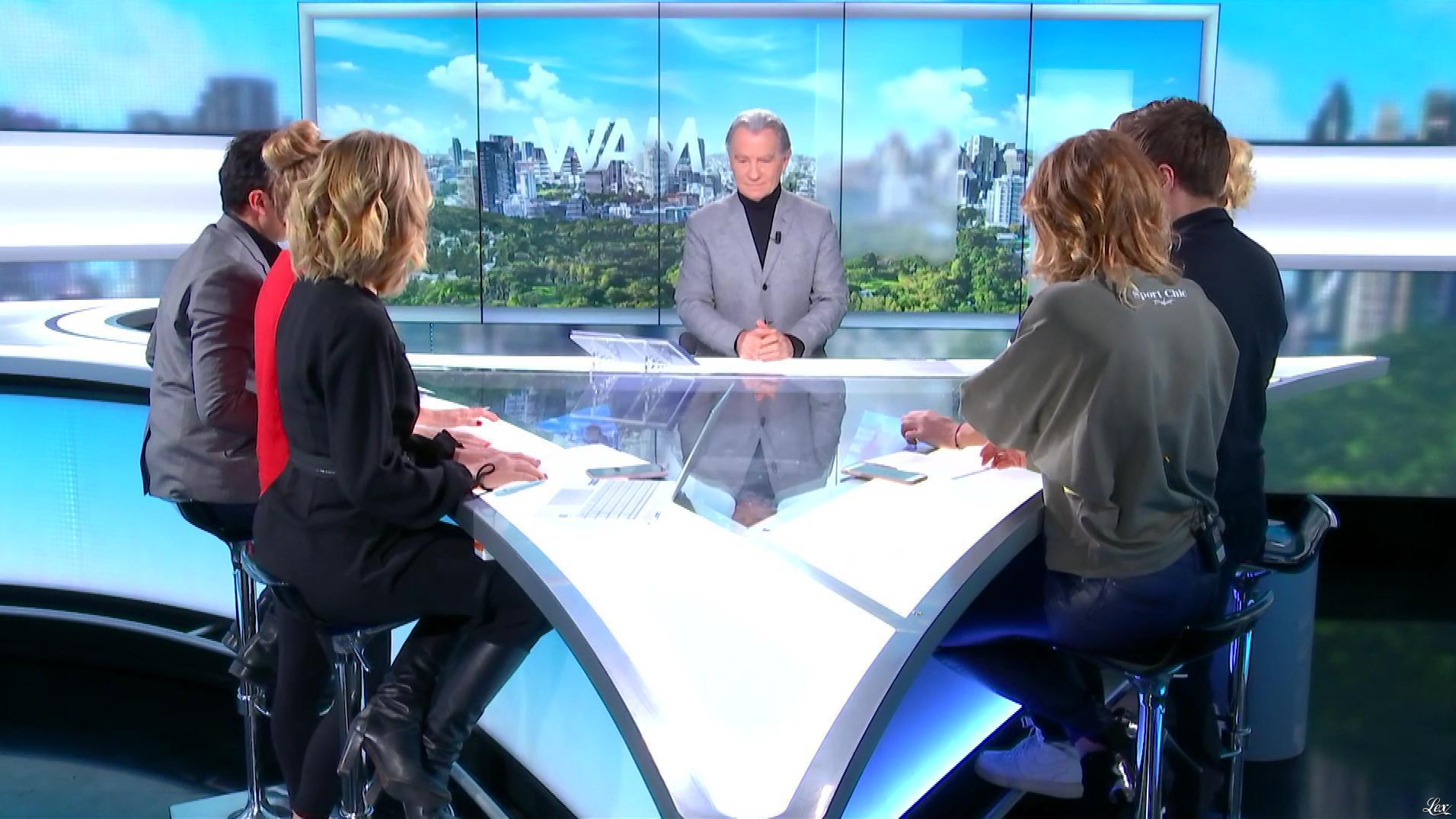 Caroline Ithurbide et Caroline Delage dans William à Midi. Diffusé à la télévision le 28/01/19.