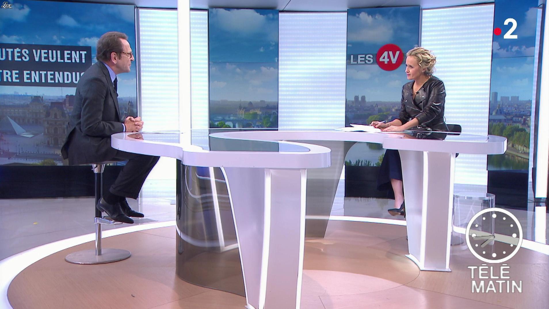 Caroline Roux dans les 4 Vérités. Diffusé à la télévision le 03/12/18.