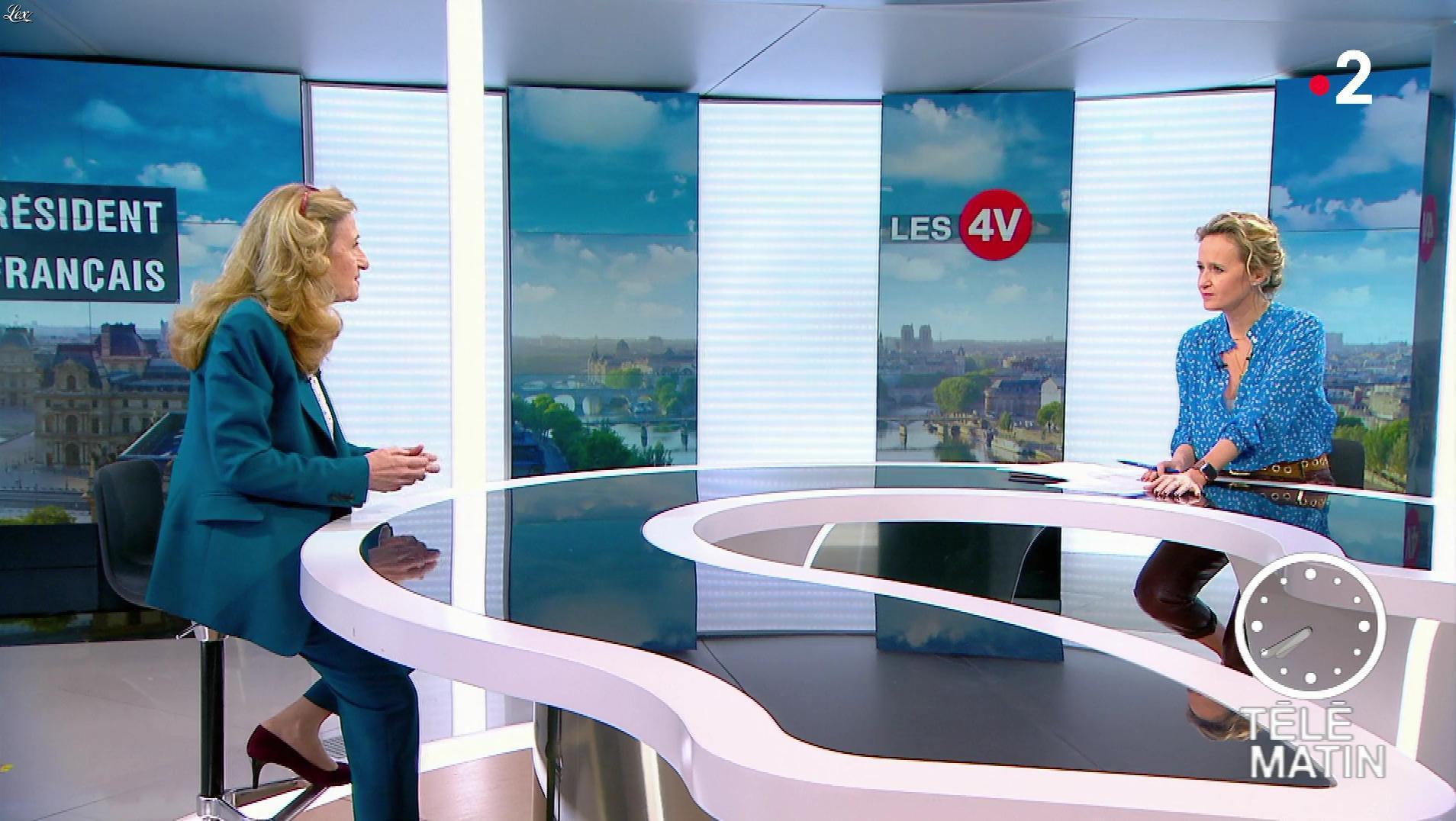 Caroline Roux dans les 4 Vérités. Diffusé à la télévision le 14/01/19.