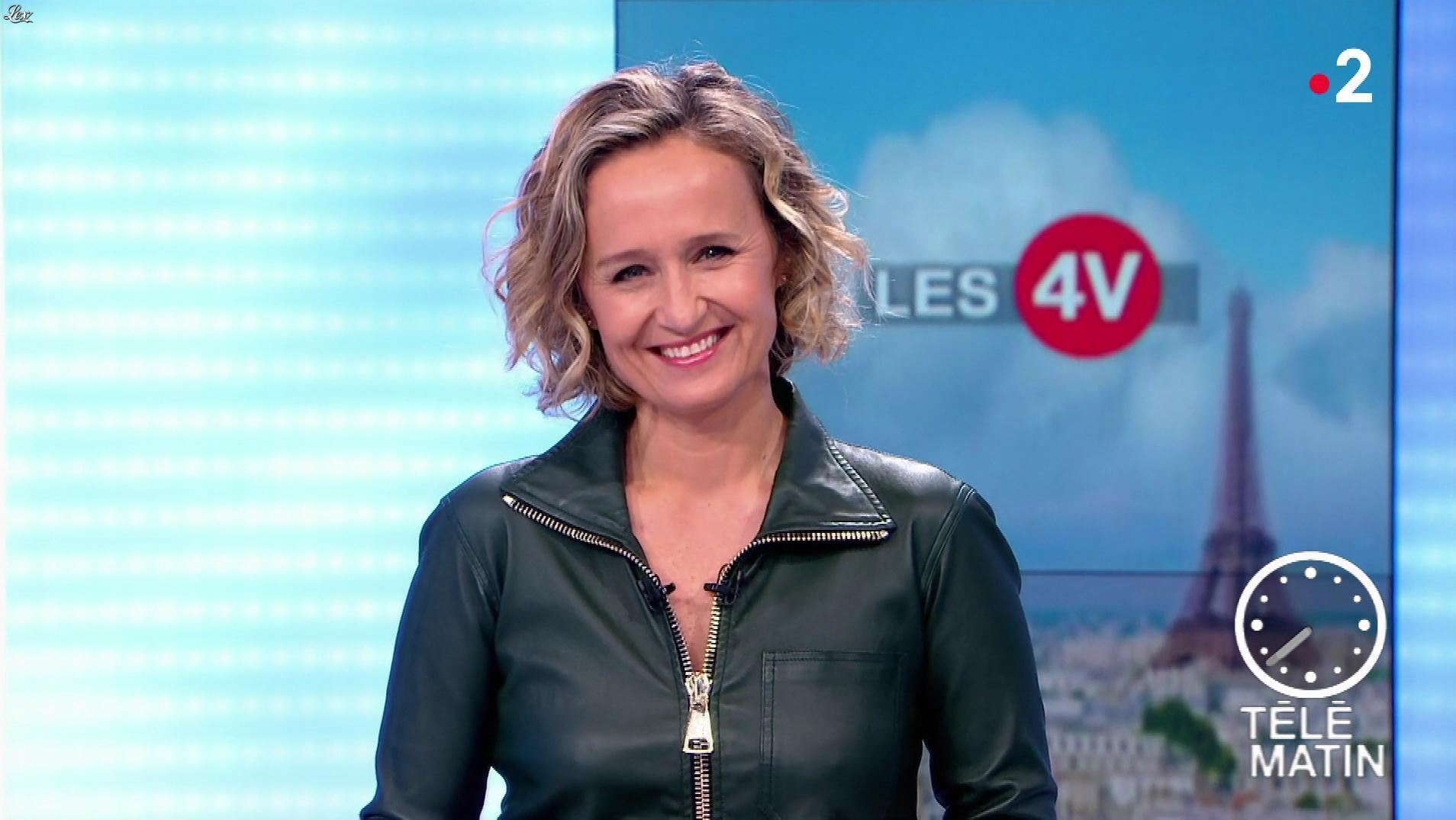 Caroline Roux dans les 4 Vérités. Diffusé à la télévision le 29/04/19.